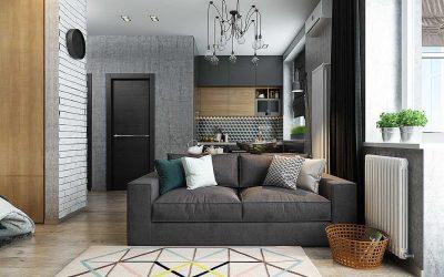 Thiết kế nội thất chung cư nhỏ 50m2 đẹp hiện đại