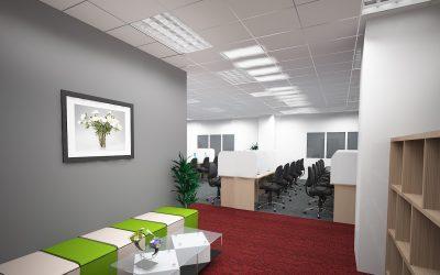 Thiết kế văn phòng công ty công nghệ Phương Nam