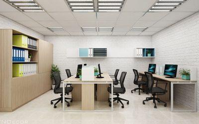 Thiết kế nội thất văn phòng 30m2