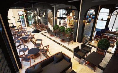 Mẫu thiết kế quán Cafe đẹp sang trọng