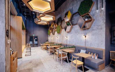 Thiết kế quán cafe – Bar phong cách hiện đại