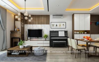 Các phong cách thiết kế nội thất nhà chung cư hiện nay