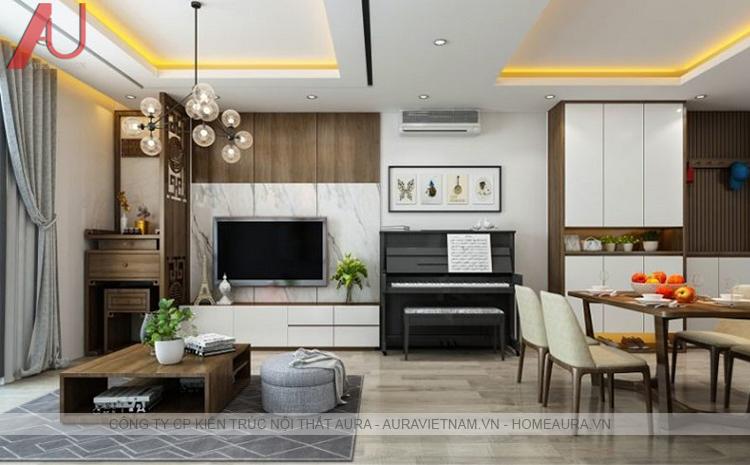 Quy trình thiết kế thi công nội that chung cư trọn gói