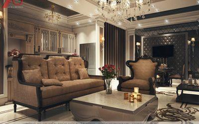 Thiết kế nội thất chung cư phong cách cổ điển và tân cổ điển