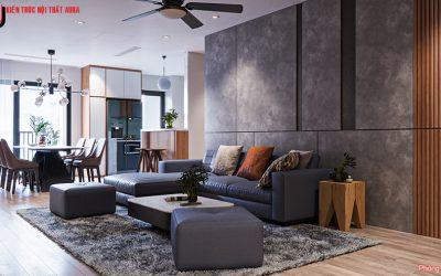 Thiết kế nội thất căn hộ 118m2 Chung cư THE LEGACY
