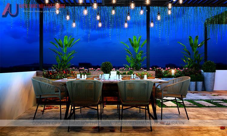 thiết kế nội thất nhà hàng khách sạn