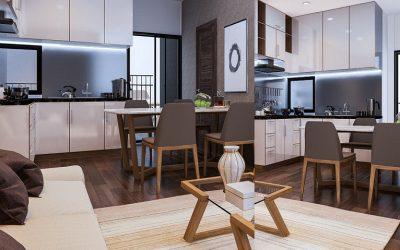 Dự án thiết kế chung cư 2 phòng ngủ 78m2 đẳng cấp, sang trọng – Roman Plaza