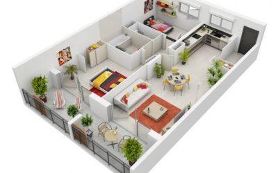Tổng hợp hơn 40 mẫu thiết kế nội thất chung cư 2 phòng ngủ đẹp