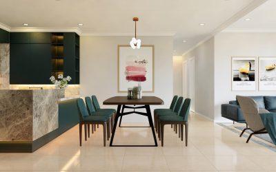 Dự án thiết kế nội thất chung cư imperia sky garden 2 phòng ngủ