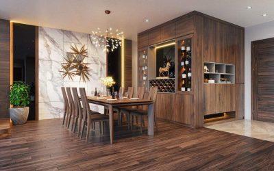 Dự án thiết kế nội thất chung cư Goldmark City 2 phòng ngủ – Hồ Tùng Mậu