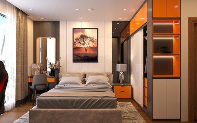 Dự án thiết kế nội thất chung cư Roman Plaza 120m2 3 phòng ngủ đẹp sang trọng