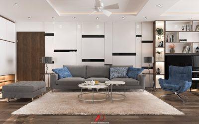 Thiết kế căn hộ 112m2 Chung cư Imparial Plaza 360 Giải Phóng